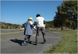 自転車の 自転車 乗り方 練習 大人 : 広島のキャンプ場|グラウンド ...